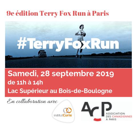 Journée Terry Fox à Paris 2019
