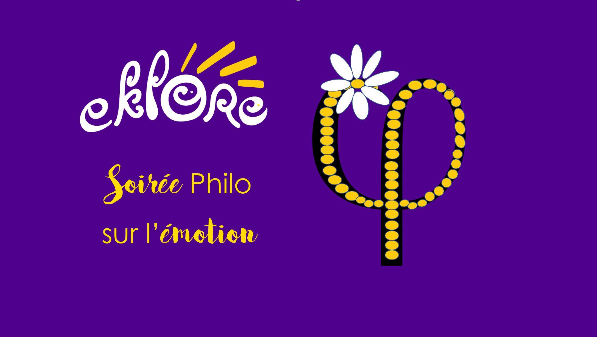 Soirée Philo sur l'émotion